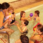 Swim Lessons, Pre-school in Therapy Pool